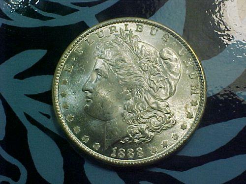 1888 MORGAN DOLLAR         ao88