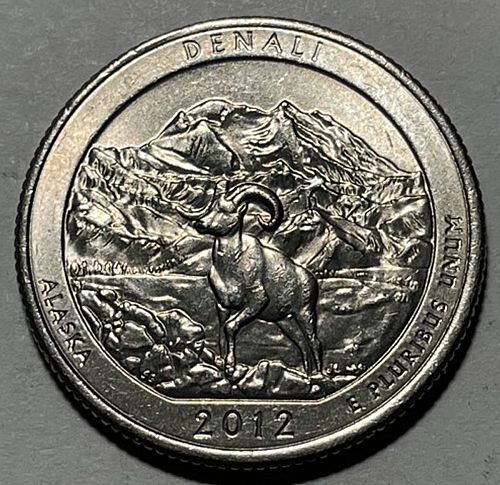 2012 D Denali America The Beautiful Quarters. 3951