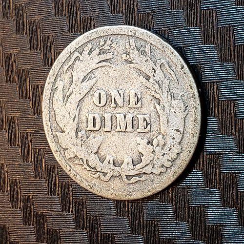 1899-P Barber Dime