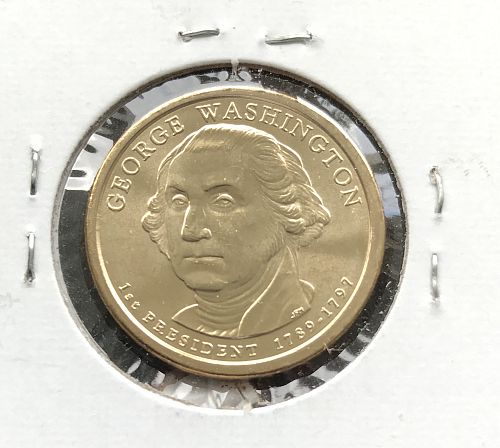2007-D Uncirculated Presidential Dollar Coin---George Washington (0604-11)