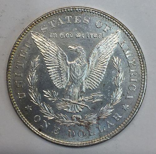1878 7TF Morgan Silver Dollar MS63PL