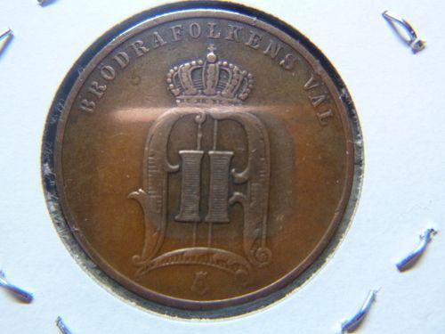 SWEDEN 1898 5 ORE
