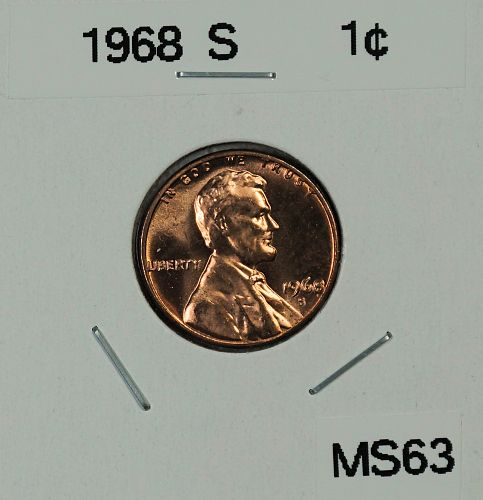 1968 S Lincoln Memorial Cent