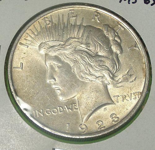 1923 Peace Dollar  MS63  #$-1923-8