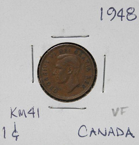 Canada 1948 cent