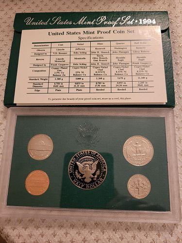 1994-S United States Mint Clad Proof Set