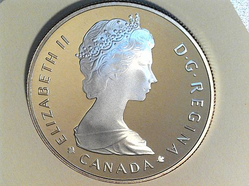 1985 Proof Canada National Parks Silver Dollar (price dropped 8/16/21)