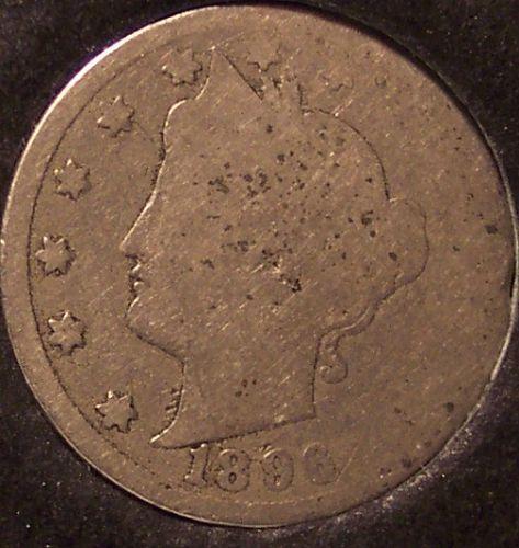 "1896 Liberty Head ""V"" Nickel AG #0668"