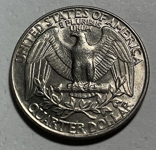 1990 D Washington Quarters.  3222