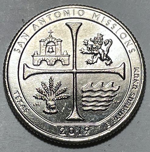 2019 W San Antonio Missions America The Beautiful Quarters 31014
