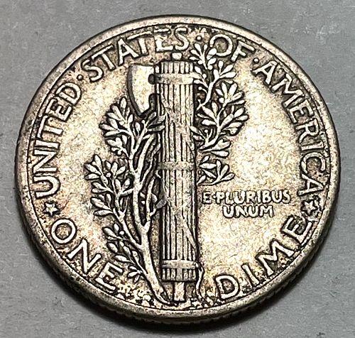 1941 Mercury Dimes. 31021