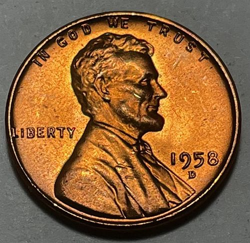 1958 D Lincoln Wheat Cent.  31024