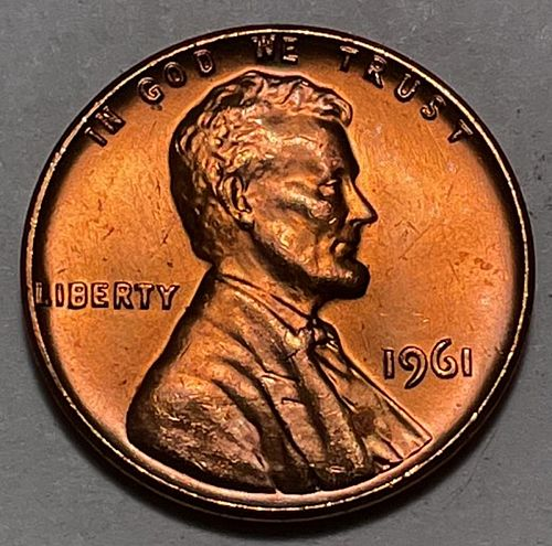 1961 Lincoln Memorial Cent  31031
