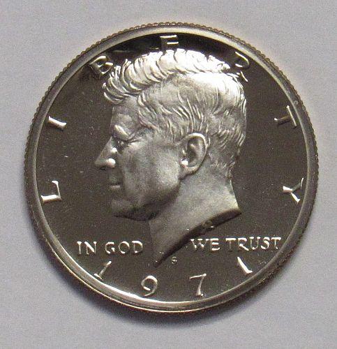 1971 S Proof Kennedy Half Dollar