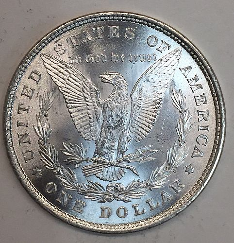 1878 8TF REV '78 Morgan Silver Dollar, MS64