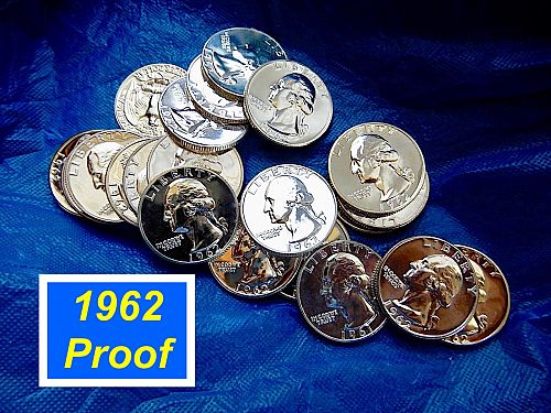 1962 Proof Quarter ⭐️ Problem Free and Attractive Eye Appeal ⭐️(R8360)