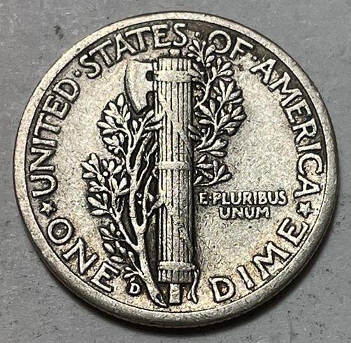 1943 D Mercury Dimes 31032