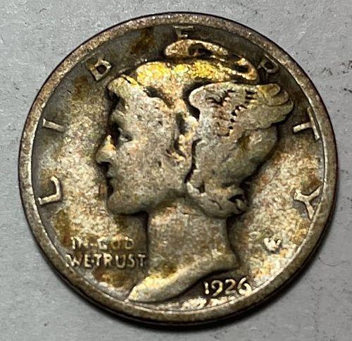 1926 D Mercury Dimes. 31033