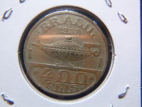 BRASIL 1938 4 REILS