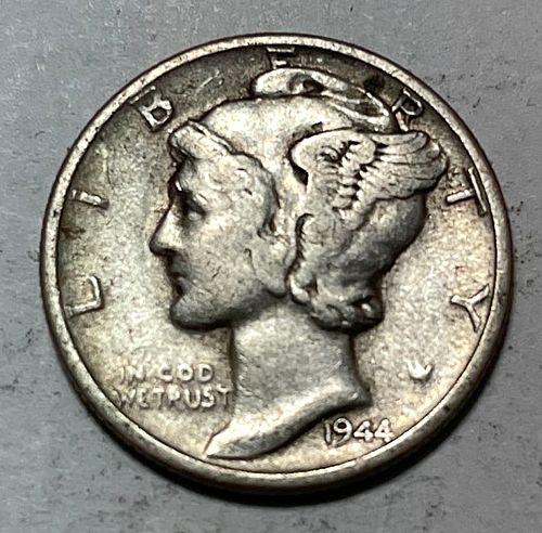 1944 S Mercury Dimes. 31042