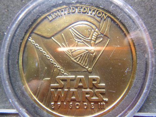 STAR WARS EPISODE III LIMITED EDITION 2005 LFL MEDALLION