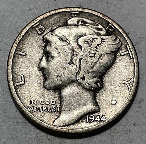 1944 Mercury Dimes 31053