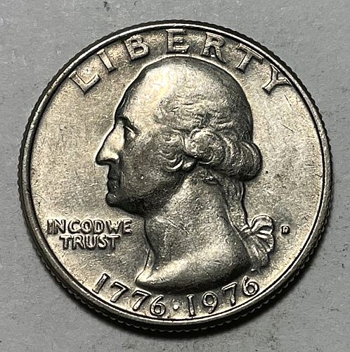 1976 D Washington Quarters. 31114