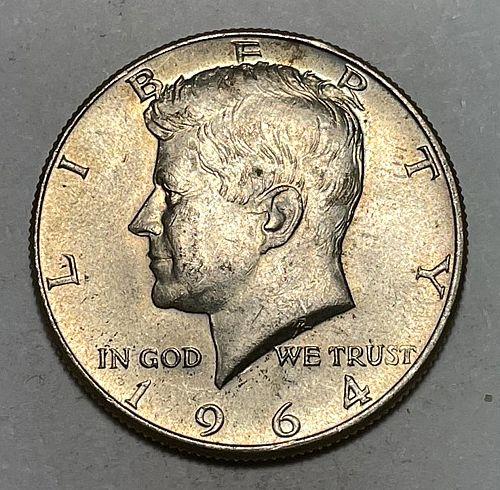 1964 Kennedy Half Dollars 31124