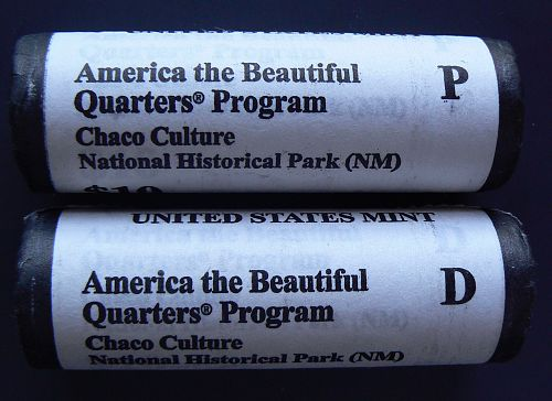 2012 D Chaco Culture National Historic Park Quarter
