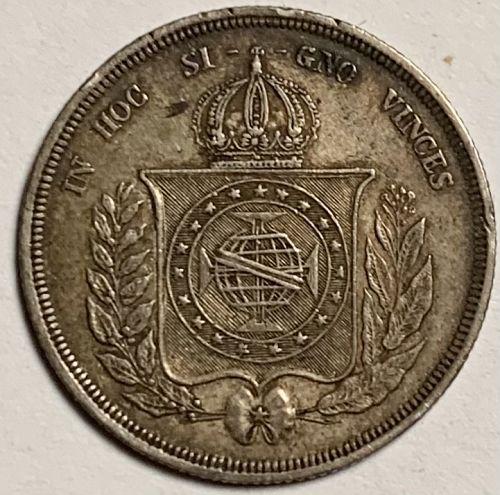 1861 BRAZIL .917 500 REIS