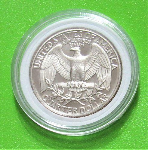1980-S 25 Cents - Washington Quarter - Cameo Proof