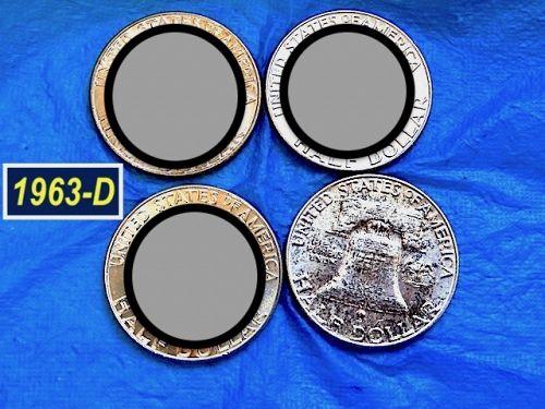 1963-D Silver Franklin  ⭐️ Uncirculated  ⭐️ (1170.LR)