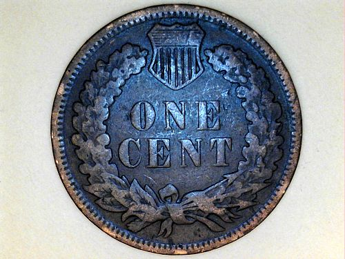 1907 Indian Head Cent---GOOD-VG Details, Cleaned