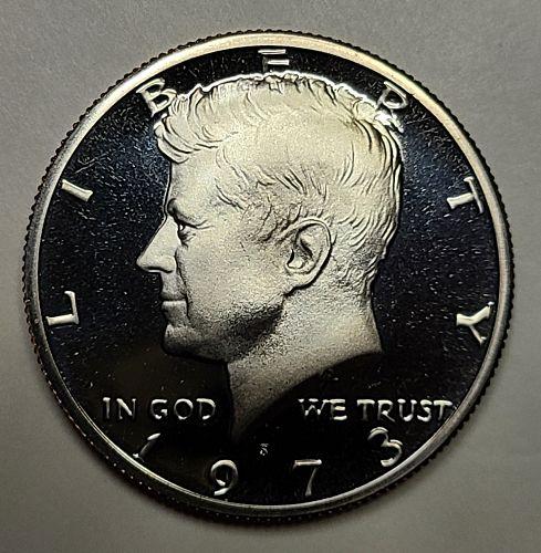 1973-S Kennedy Half Dollar Proof-66 (GEM+)