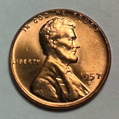 1957 D Lincoln Wheat Cent. 31141
