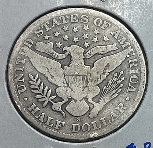 1903 S Barber Half Dollars.  31143