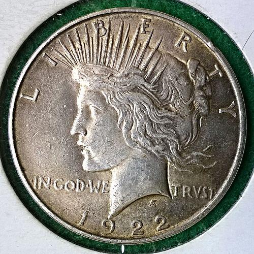 1922 P Peace Dollar - 4 Photos!