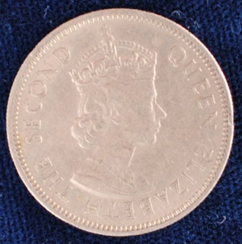 1961 Fiji Shilling XF