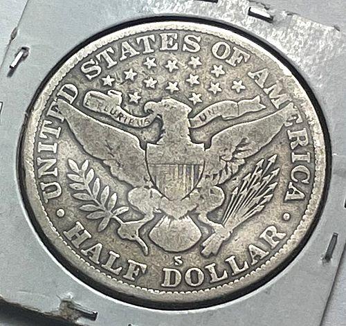 1915 S Barber Half Dollars. 31144