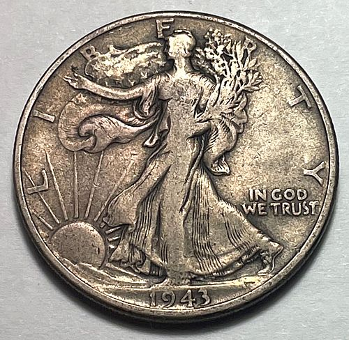 1943 Walking Liberty Half Dollars. 31151