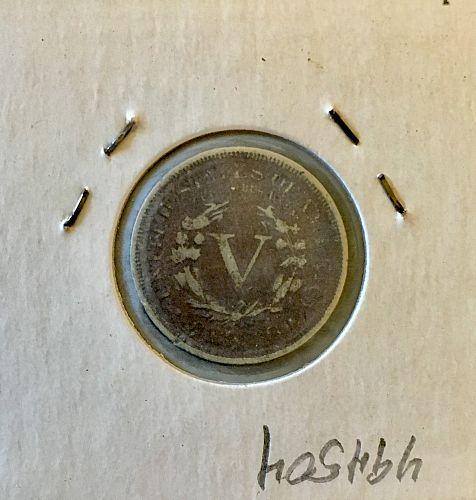 "1894 Liberty ""V"" Nickel"