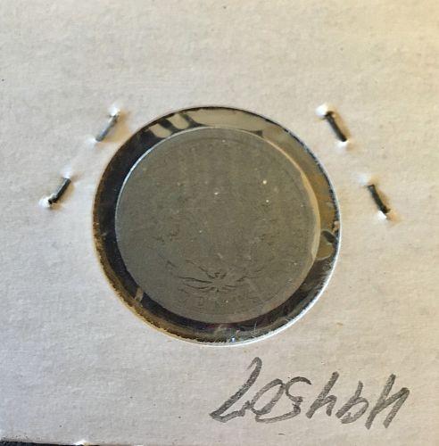 1895  Fill a hole.   V Nickel