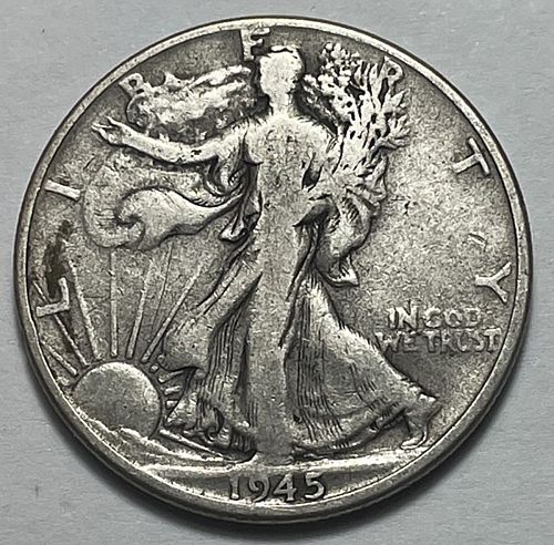 1945 Walking Liberty Half Dollars    31152