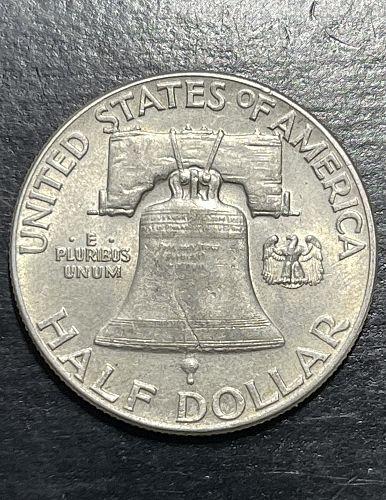 1948-P High Grade XF+/AU-FBL Key Date Low Mintage Franklin US Silver Half Dollar