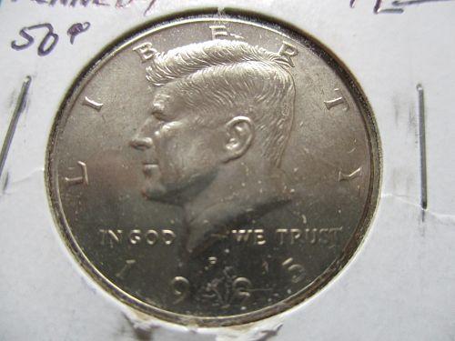 1995  Kennedy Half Dollar.  Item: 50 K95-04.