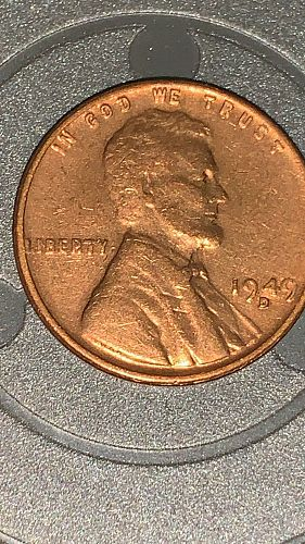 1948 D Lincoln Wheat Cent Small Cents