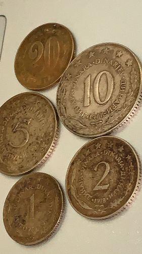 Dinara Set 5 Coin