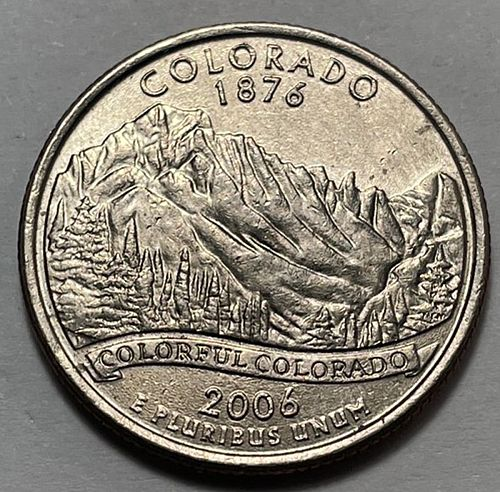 2006 D Colorado 50 States and Territories Quarters 31214