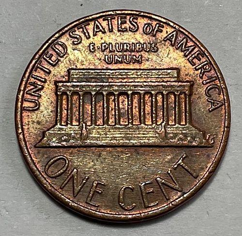 1982 Lincoln Memorial Cent : Zinc - Large Date  31231