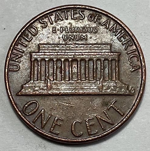 1982 D Lincoln Memorial Cent : Copper - Large Date. 31241